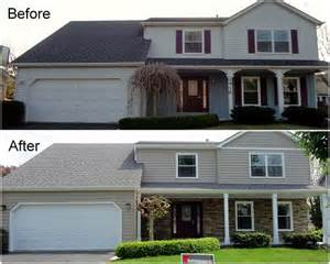 Curb Appeal Renovations - manufactured stone by chicagoland s siding experts hhihollingsworth home improvement
