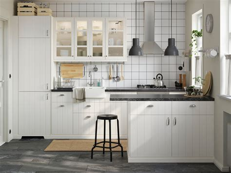 kitchen inspirations clean and bright outside and in ikea