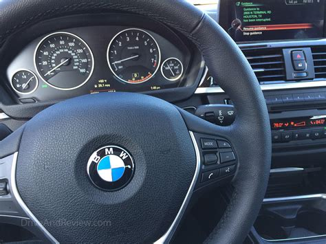 bmw dashboard getting with a 2015 bmw 328i driveandreview