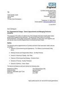 Nhs Cover Letter by Nhs Letter Published Organisational Best Free Home Design Idea Inspiration