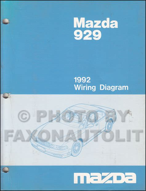 online repair manual for a 1992 mazda 929 mazda 929 1983 1984 1985 1986 2 0i workshop manual 1992 mazda 929 repair shop manual original