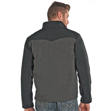 Jacket Parka 2 Tone powder river outfitters two tone soft shell jacket for save 45