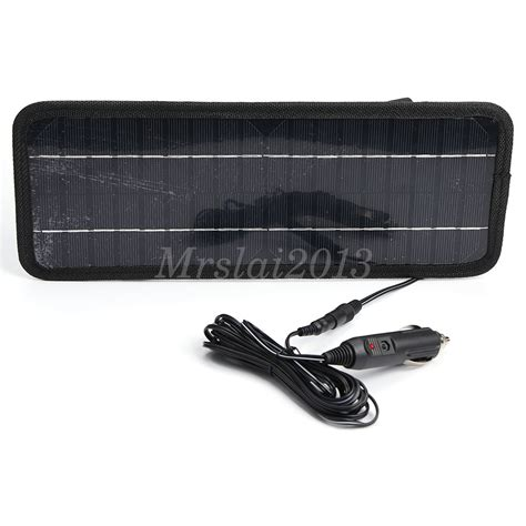 boat battery chargers information 12v 4 5w portable power solar panel battery charger for