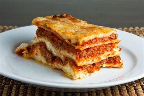 lasagna on closet cooking