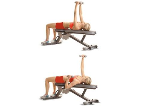 dumbbell alternating bench press how to do alternating bench press women s health