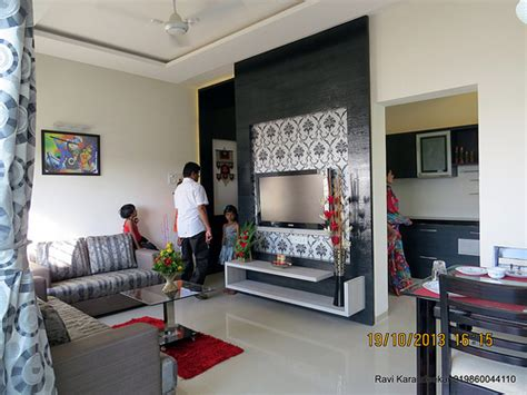 home interior design 2bhk living cum dining visit 2 bhk show flat of vastushodh
