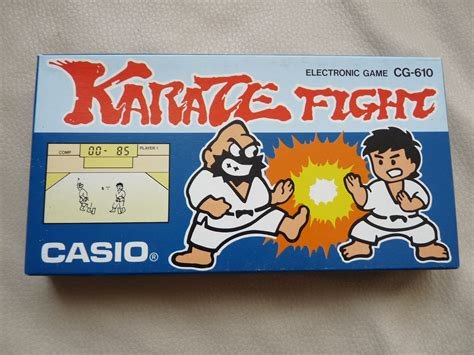 Gimbot Casio Karate Fight 1986 handheld empire casio karate fight