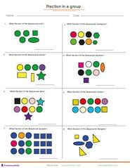 fractions worksheets understanding fractions adding