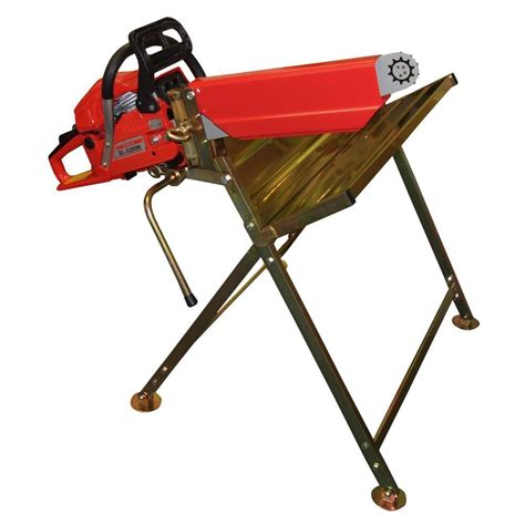 log cutting saw bench galvanised metal chainsaw log saw horse with holder