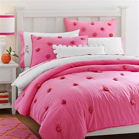 Bright Pink Comforter by 15 Trendy Duvet Covers And Quilts At Pb Bedding