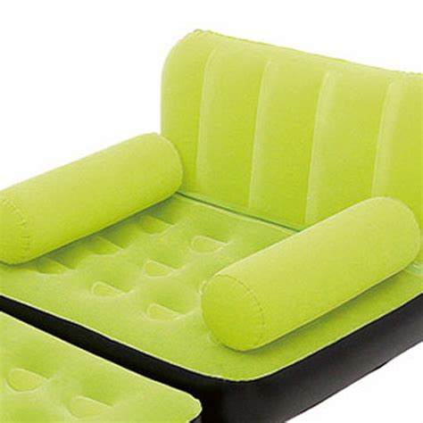 inflatable double sofa couch air bed house inflatable pull out sofa couch full double air bed