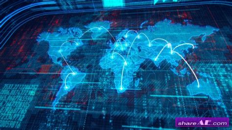 template after effects gfx videohive world map 10034657 motion graphic 187 free after