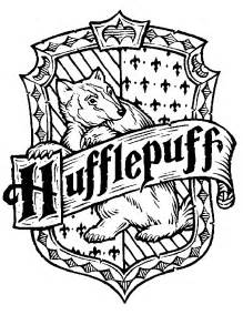 hufflepuff crest coloring page s musings august 2010