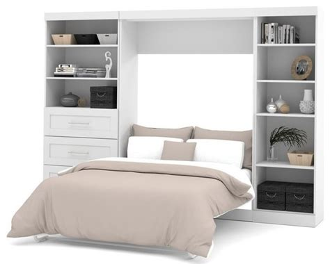 contemporary murphy beds bestar pur wall bed kit white contemporary murphy