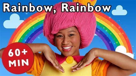 rainbow rainbow   nursery rhymes  mother goose club youtube