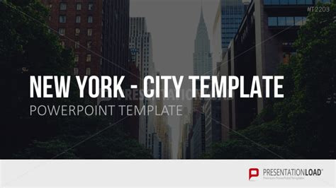 Presentationload City Template New York Nyu Powerpoint Template