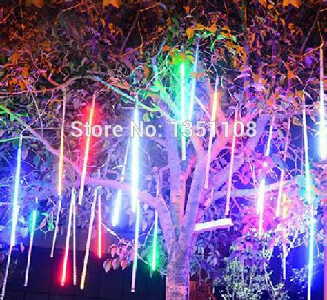 Lu Hias Led Meteor lu meteor hias pohon natal toko 60 cm light shower led