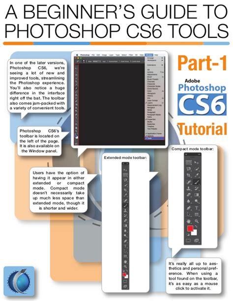 a beginner s guide to a beginner s guide to photoshop cs6 tools part 1