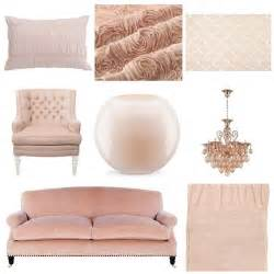 Serenity Home And Health Decor decorating with blush pink