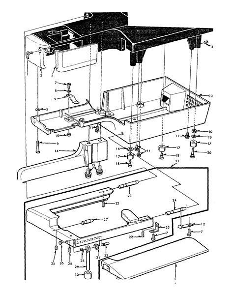 kenmore sewing machine parts diagram base diagram parts list for model 15816250 kenmore parts