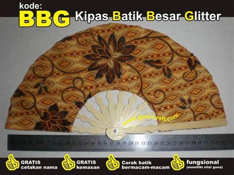 Souvenir Kipas Besar souvenir kipas batik besar glitter bbg souvenircantik