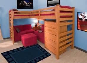 Bunk Beds Set Garret Bed Set Cherry Betterimprovement