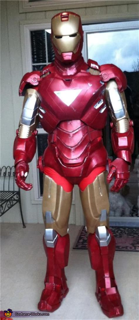 diy iron man costume ironman costume ideas pinterest