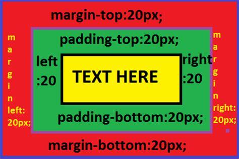 css tutorial margin padding padding and margin margins define css padding and margin