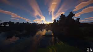 mine craft minecraft sunset wallpaper and hintergrund 1366x768 id