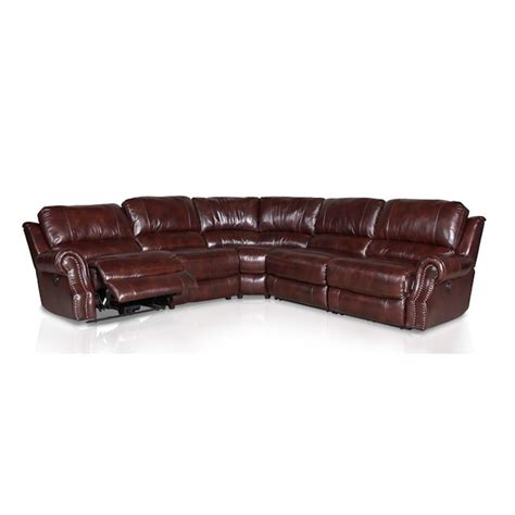 nouveau leather sectional lauren power reclining sofa loveseat recliner ct