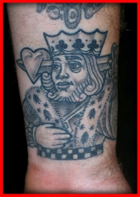 suicide king tattoo king pictures to pin on pinsdaddy