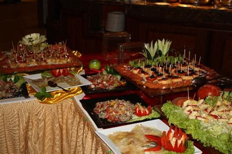 buffet picture of majestic colonial punta cana punta