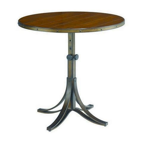accent end table hammary mercantile adjustable accent table beyond stores