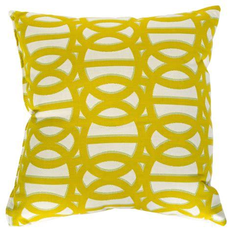 reflex ii citron sunbrella outdoor throw pillows on sale