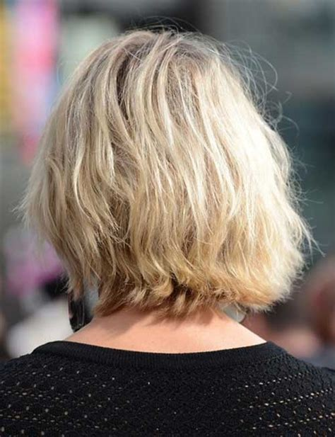 vies of side and back of wavy bob hairstyles back view of short bob haircuts bob hairstyles 2017