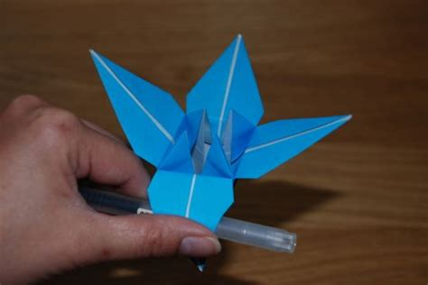 cara buat origami bunga lily origami bunga lily liliany candra