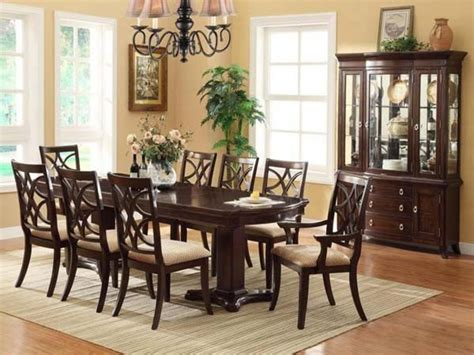 cherry wood dining table  chairs ethan allen dining room sets mark dining room set dining