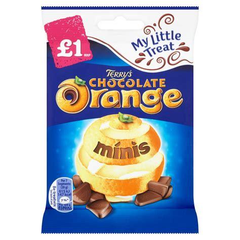 Minis Chocolate 80g terry s chocolate orange minis 163 1 chocolate bag 80g