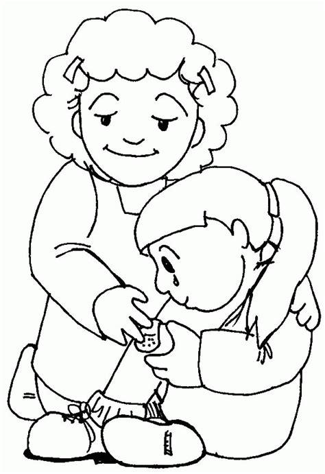 Coloring Pictures Of Kindness