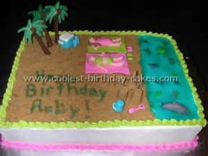 Dolphin Decorations Party Coolest Beach Cake Ideas And Photos