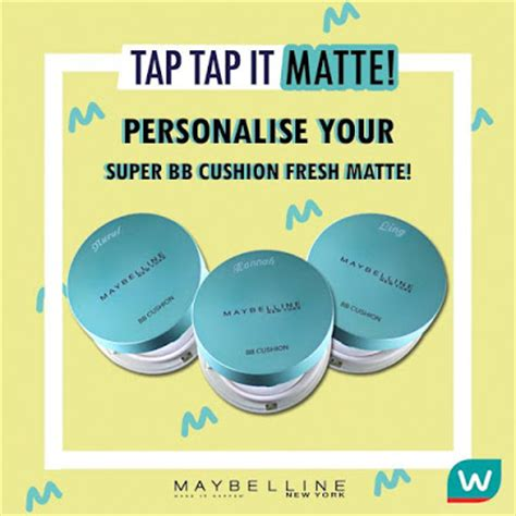 Harga Bb Cushion Maybelline by Free Personalized Engraving Service On Purchased
