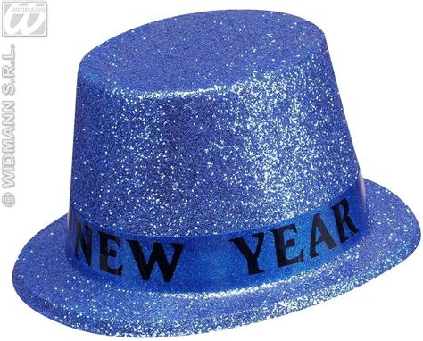 how to make new year hats happy new year glitter top hats 6 cols fancy dress