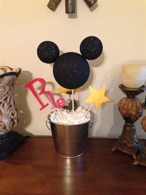 Mickey Mouse Birthday Centerpiece Holiday Ideas Pinterest Centerpieces For Mickey Mouse Birthday