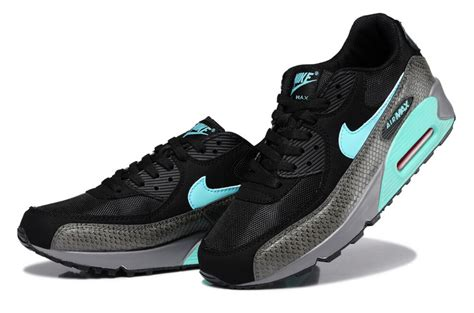 Nike Air Max 90 Snake Olahraga Runing Pria Kerja Kets Is 763 cheap nike air max 90 mens snake black green running shoe