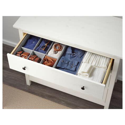 hemnes chest of 3 drawers white stain 108x96 cm ikea