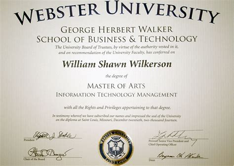 Mba Degree Webster by Masters Degree American