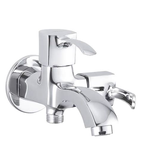 bathroom taps online india buy hindware silver 2 way bathroom tap online at low price