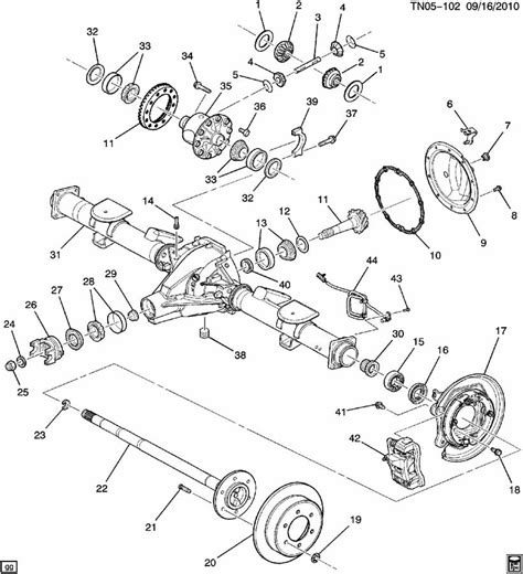 gmc yukon front differential diagram gmc free gmc rear differential diagram gmc free engine image for