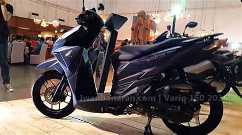 Vario Techno 150cc Th 2016 honda new vario 150 2016 new color hd