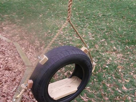 recycled tire swing recycled tire tree swing lovely kids pinterest